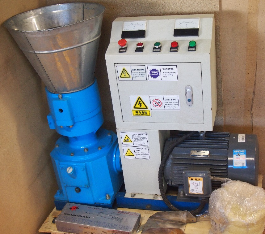 Pellets mill 200 7,5kW with control panel and Siemens motor